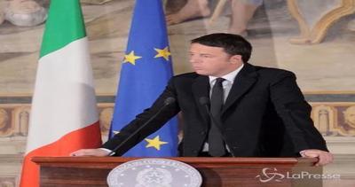Renzi: Italia non cambia posizione. Dobbiamo investire su ...