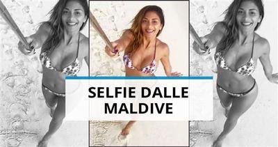 Sexy selfie dalle Maldive per la ex di Hamilton