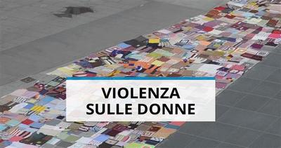 Una maxi coperta per dire no alla violenza sulle donne