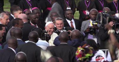 """Papa Francesco è in Kenya, la """"prima"""" di Bergoglio in ..."""