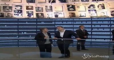 Gerusalemme, Tsipras in visita al memoriale dell'Olocausto