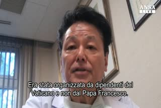 Dottor Fukushima, operato uomo con nome simile al Papa