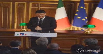 Renzi alla Sorbona ricorda Valeria: Incarnava la ...