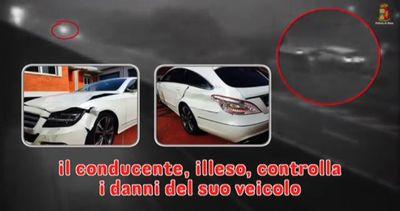 Genova, tampona un'auto in A12 e fugge: denunciato pirata ...