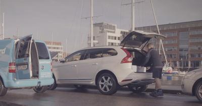 Volvo ti porta i regali di Natale in auto