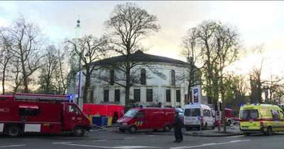 Bruxelles, evacuata Grande moschea per pacco con polvere ...