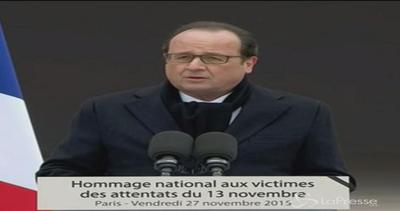 Hollande: Distruggeremo i fanatici responsabili del 13 ...