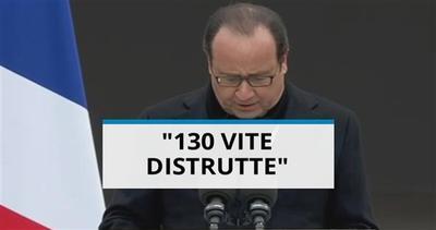 La promessa di Hollande: 'distruggeremo i fanatici'