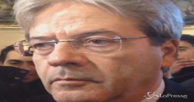 Libia, Gentiloni: Italia avrà ruolo coordinamento molto ...