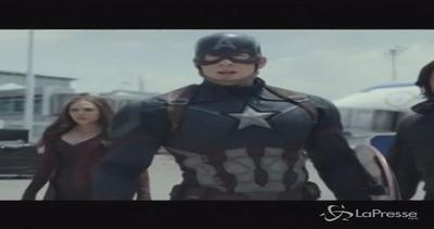 "Svelato il trailer di ""Captain America: Civil War"