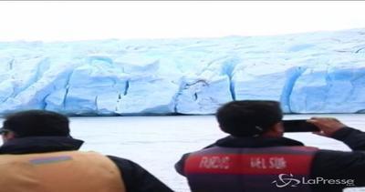 Ghiacciaio Grey in Cile si scioglie: 19 km quadrati persi ...