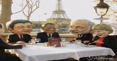 Parigi, la magra colazione dei leader mondiali: colpa del ...