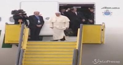 Papa Francesco in viaggio verso la Repubblica Centrafricana