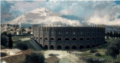 L'Anfiteatro romano di Catania rivive in 3D