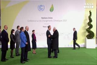 Parte vertice clima a Parigi con 147 leader mondiali