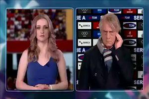 La nuova parodia di Crozza: «Mancini sull'orlo di una crisi di nervi»