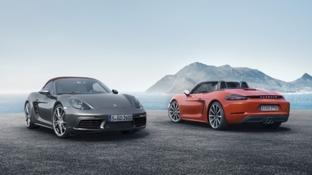 Arriva la Porsche 718 Boxster: la nuova roadster con motore centrale a quattro cilindri da 350 CV