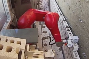Il robot più veloce di un muratore
