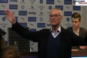 Ranieri incontenibile: champagne per tutti alla conferenza stampa