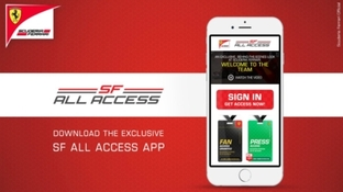 Scuderia Ferrari All Access è online per iOS