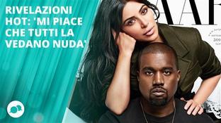 Kanye West: 'Mi piace che tutti vedano mia moglie nuda'