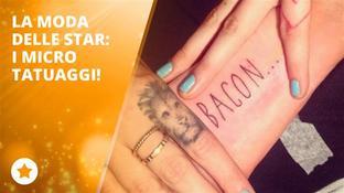 Quali sono i mini tattoo più chiacchierati delle star?