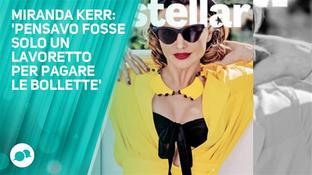 Miranda Kerr non aveva mai voluto fare la modella