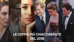 Top 2016, le 3 coppie più chiacchierate dell'anno