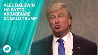 Alec Baldwin fa ridere gli USA e arrabbiare Trump