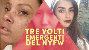 I tre volti emergenti della NYFW