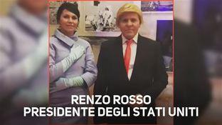 Renzo Rosso imita Donald Trump!