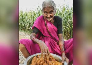 Le ricette di nonna Mastanamma, la youtuber indiana di 106 anni