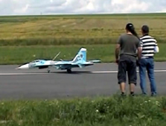 Sukhoi Su-27 in scala